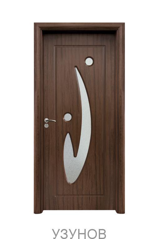 Интериорна HDF врата с код 070, цвят Златен дъб