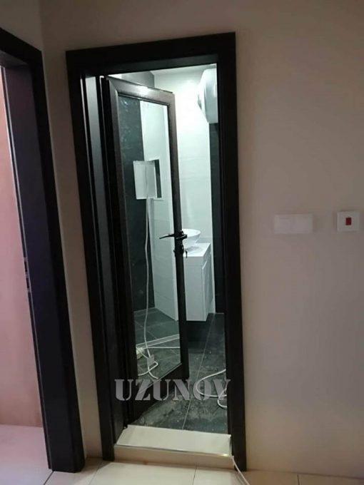 Алуминиева врата Венге с каса Gradde