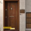 Блиндирана врата Т100 Злaтен дъб