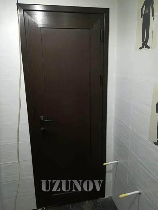 Алуминиева врата за баня с каса Gradde