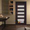 Интериорна врата Gradde серия Aaven Glas Орех Рибейра