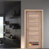 Интериорна врата Gradde серия Axel Glas Дъб Вераде