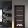 Интериорна врата Gradde серия Axel Glas Орех Рибейра