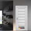 Интериорна врата Gradde серия Axel Glas Сибирска Лиственица
