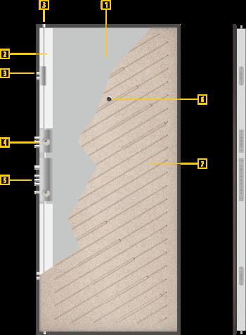 Технически данни за врата 703