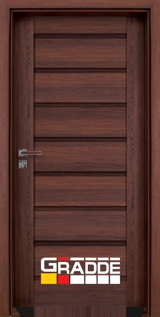 врата Gradde серия Axel Full Шведски Дъб