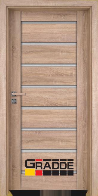 врата Gradde серия Axel Glas Дъб Вераде