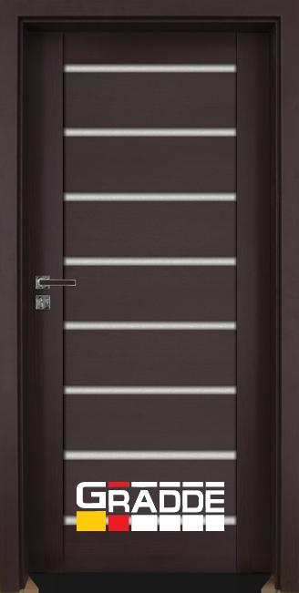 врата Gradde серия Axel Glas Орех Рибейра