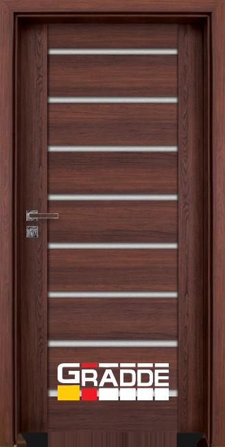 врата Gradde серия Axel Glas Шведски Дъб