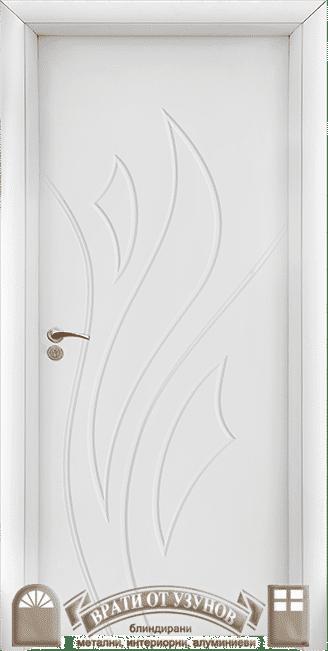HDF врата 033-P Бяла