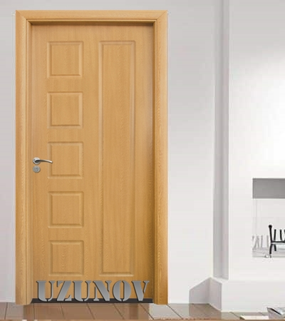 HDF врата 048-P Светъл дъб